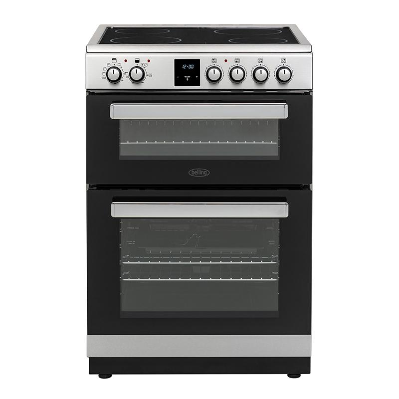 Beko 60cm Electric Cooker FSE608DPC